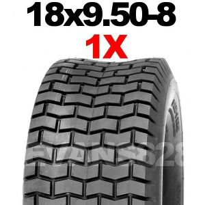 18x9.50-8 MOWER TYRE FOR RIDE ON LAWN MOWERS